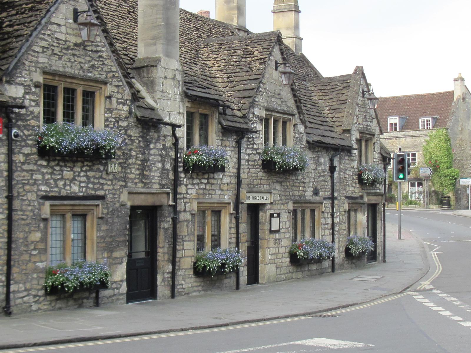 We are less than two miles from the beautiful Saxon town of Bradford-on-Avon