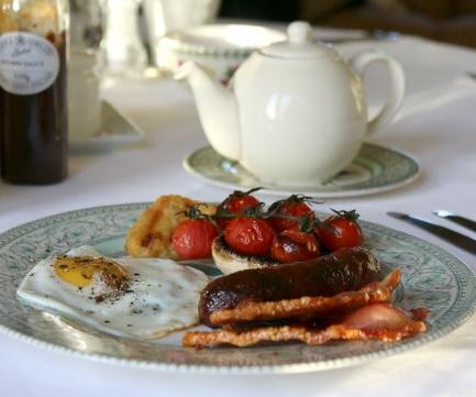 Great Ashley Farm breakfast
